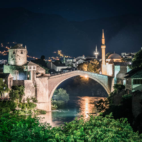 One night in Mostar